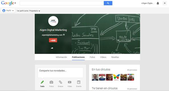Aigen Digital Marketing Google+