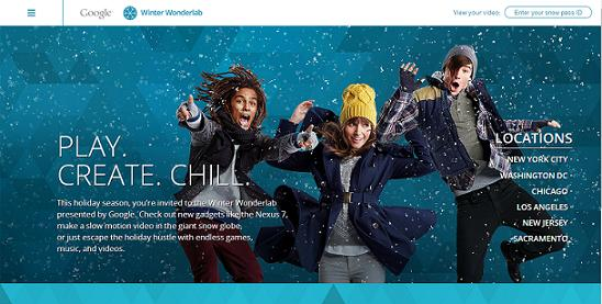 Qué es Google Winter Wonderlabs