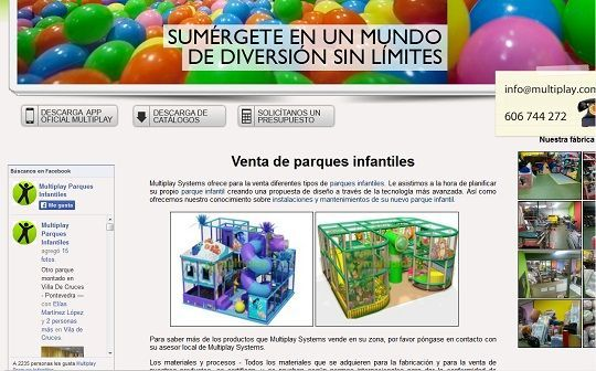 Parques infantiles de bolas