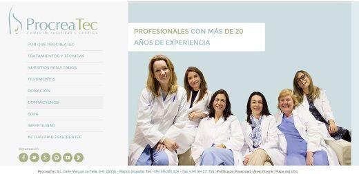 clínicas de fertilidad madrid