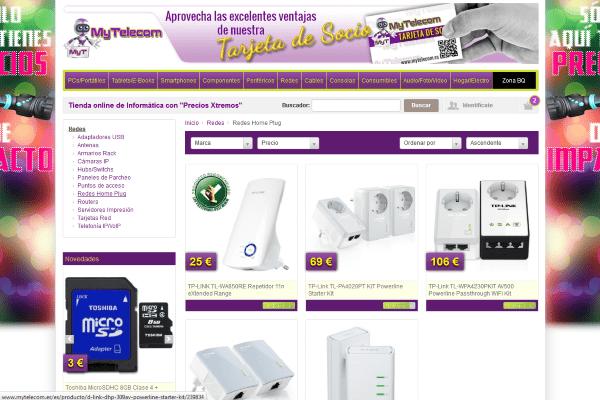 redes home plug