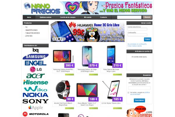 tienda informatica online nanoprecios