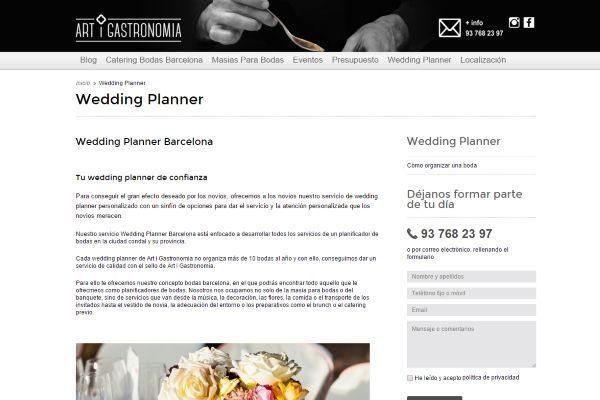 Masias para bodas Barcelona