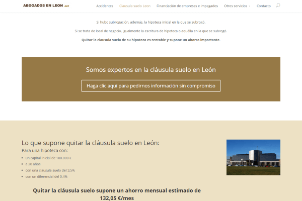 Cláusula suelo en León