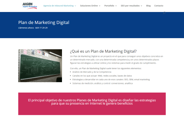 plan de marketing digital barcelona