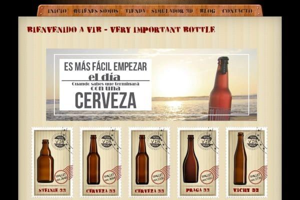botellas para embotellar cerveza