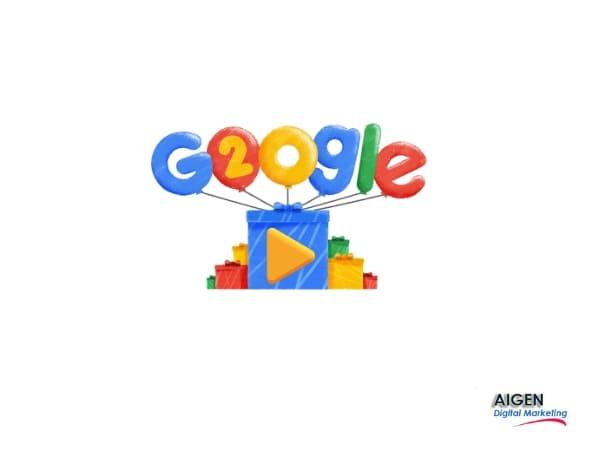 20 años Google